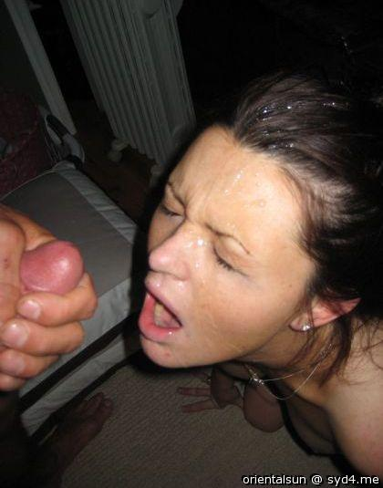 Cumming in your face