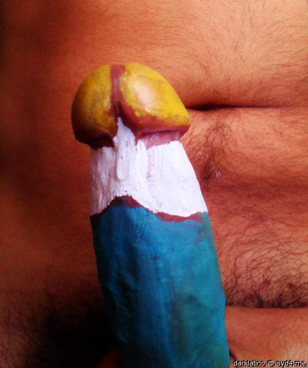 What to paint on your penis