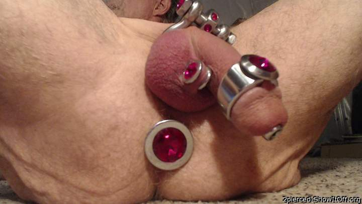 Pierced and plugged