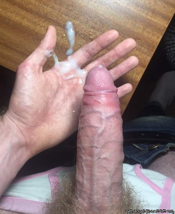 Thick cock and thick cream